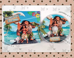 DVD ou CD Moana