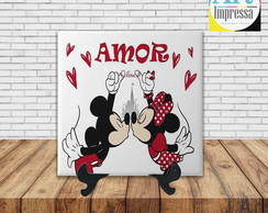 Azulejo Decorativo Minnie e Mickey