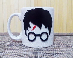 Caneca 3D Harry Potter
