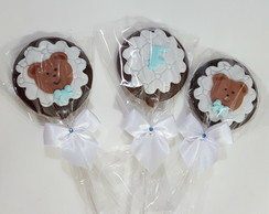 Pirulitos de chocolate Urso