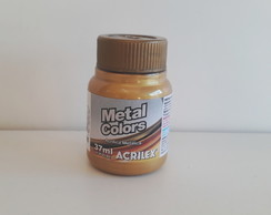 Tinta Metal Colors Dourado 37ml