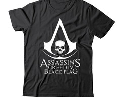 camiseta ou baby look assassin creed 4