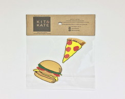 Kit Patches Pizza Hamburguer