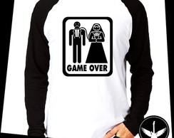 Manga Longa Game Over casamento