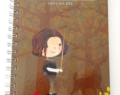 Caderno pontilhado 75g A5 Bujo Game Of Thrones - Arya