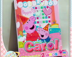 Revista de colorir Peppa Pig e George
