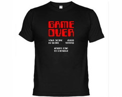 Camisetas Game Over Atari