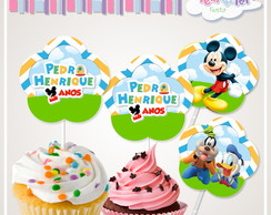 Topper cupcake Mickey