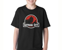 Camisetas infantil batman gotham city