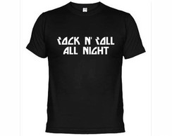 Camisetas Kiss Rock N Roll All Nicht