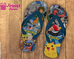 CHINELO INFANTIL - POKEMON