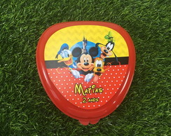 Lancheira Plastica - Turma do Mickey