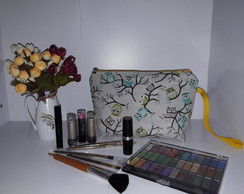 Necessaire Porta Make UP Coruja