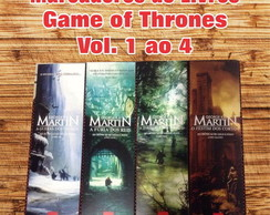 Kit Marcador Livro Game of Thrones