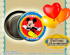 Latinha Personalizada Mint To Be Mickey