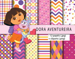 Kit Digital - Dora Aventureira