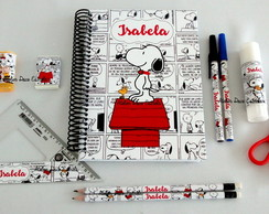 Kit Escolar/Pintura Luxo do Snoopy