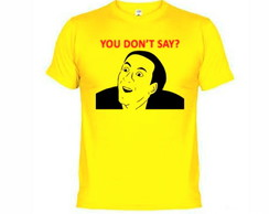 Camisetas You Dont Say