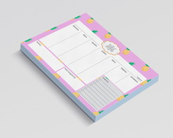 PLANNER DE MESA SEMANAL PINEAPLE LOVE