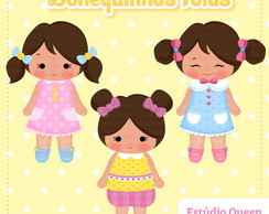 Kit Digital Bonequinhas | ClipArt