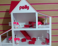Casinha da Polly Rosa Pink