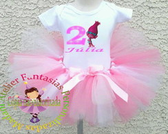 Kit Fantasia Princesa Poppy + Tiara