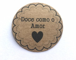Tag Craft Doce como o Amor I