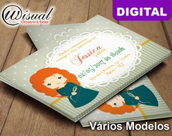 Convite Digital Merida Cute