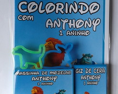 Kit Colorir + Kit Massinha Disney