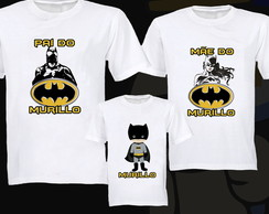 KIT 3 CAMISETAS BATMAN