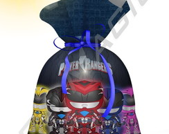Saquinho Power Rangers Cute 1 20cmx15cm