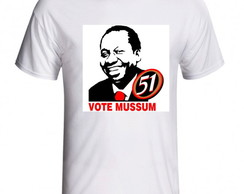 CAMISETA VOTE MUSSUM 51