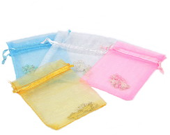 Kit Mini Tercinho +Saquinho Organza - 50 Kits