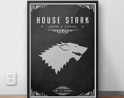 Quadro Game of Thrones -Stark - A3