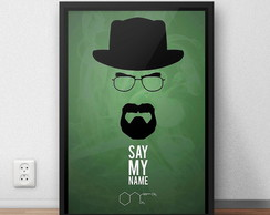 Quadro Breaking Bad - Verde