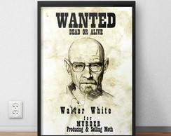 Quadro Breaking Bad - Wanted
