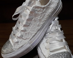 All Star Renda e Strass