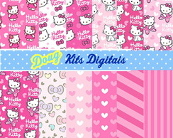 Hello Kitty Papel Parede 01