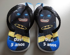 Chinelo Batman Lego