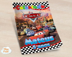Revista colorir Carros Cars