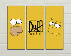 "Placas Decorativas ""The Simpsons"""