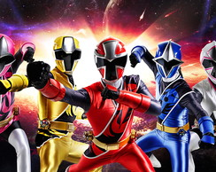 Painel 1x0,70 Power Ranger