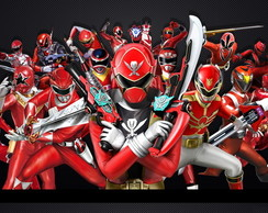 Painel 1x0,65 Power Ranger