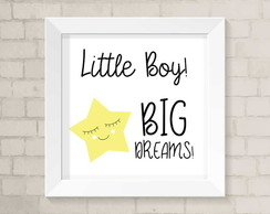 Quadro Infantil - Little Boy