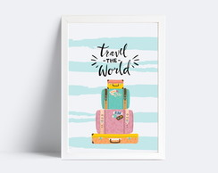 Quadro Travel The World - 20x30
