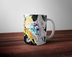 Caneca Dragonball Z Goku vs Freeza