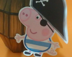 barril George pig pirata