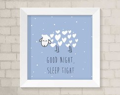 Quadro Infantil - Good Night