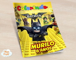 Revista colorir Lego batman