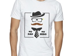 Camisa Masculina My Dad, My Hero